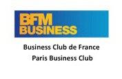 BFM Business Club de France